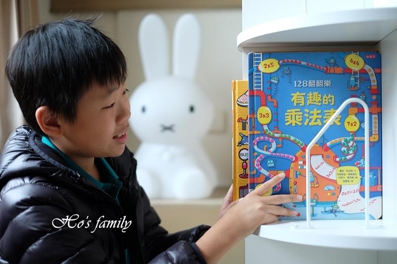 【兒童書櫃推薦】MIT第一博士360度旋轉書櫃17.JPG