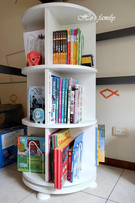 【兒童書櫃推薦】MIT第一博士360度旋轉書櫃20.JPG