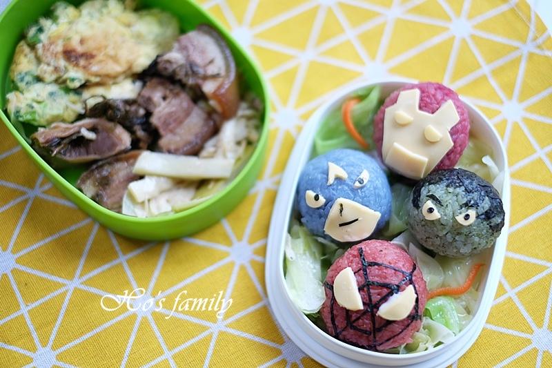 【親子料理】兒童造型便當食譜~復仇者聯盟飯糰12.JPG