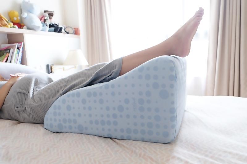 【孕婦必備物品】GreySa格蕾莎抬腿枕7.JPG