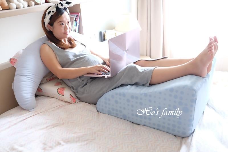 【孕婦必備物品】GreySa格蕾莎抬腿枕9.JPG