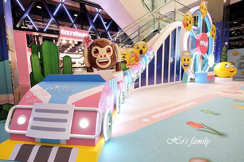 【桃園室內景點】台茂emoji夏日遊樂園5.JPG