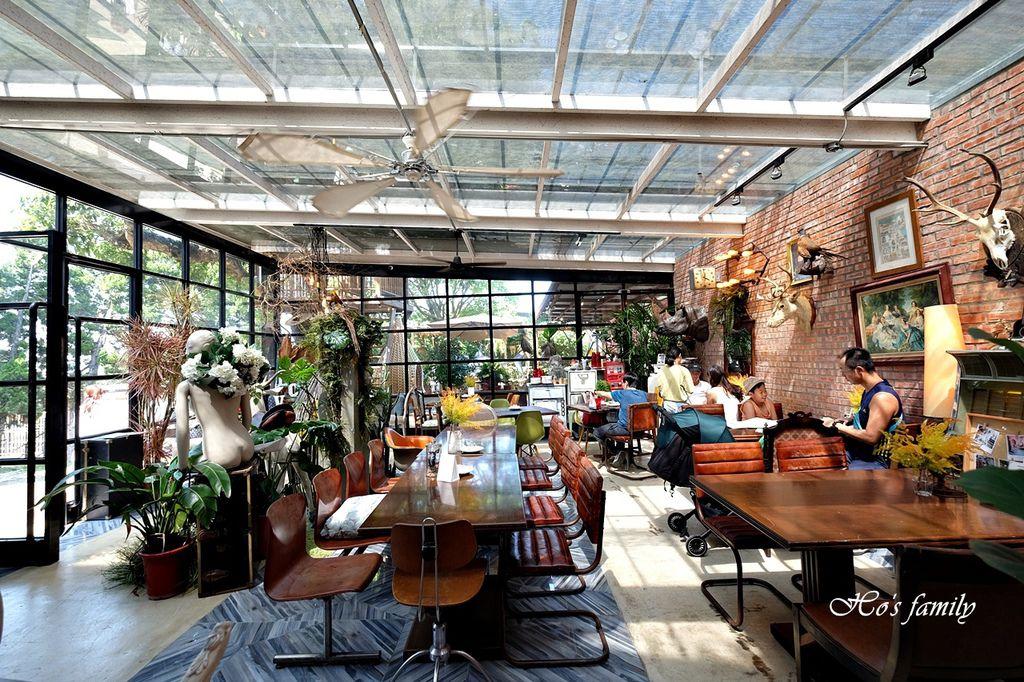 【淡水美食】Binma Area 134~森林系玻璃屋景觀咖啡廳!樹屋、水管屋, ig打卡絕美景點5.JPG