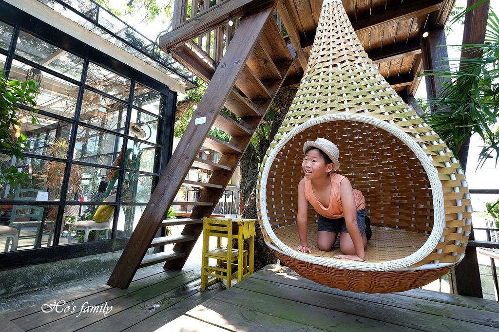 【淡水美食】Binma Area 134~森林系玻璃屋景觀咖啡廳!樹屋、水管屋, ig打卡絕美景點16.JPG