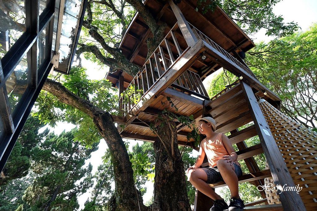 【淡水美食】Binma Area 134~森林系玻璃屋景觀咖啡廳!樹屋、水管屋, ig打卡絕美景點17.JPG