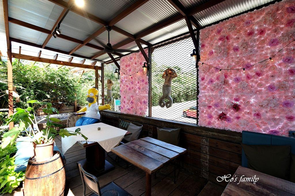 【淡水美食】Binma Area 134~森林系玻璃屋景觀咖啡廳!樹屋、水管屋, ig打卡絕美景點20.JPG
