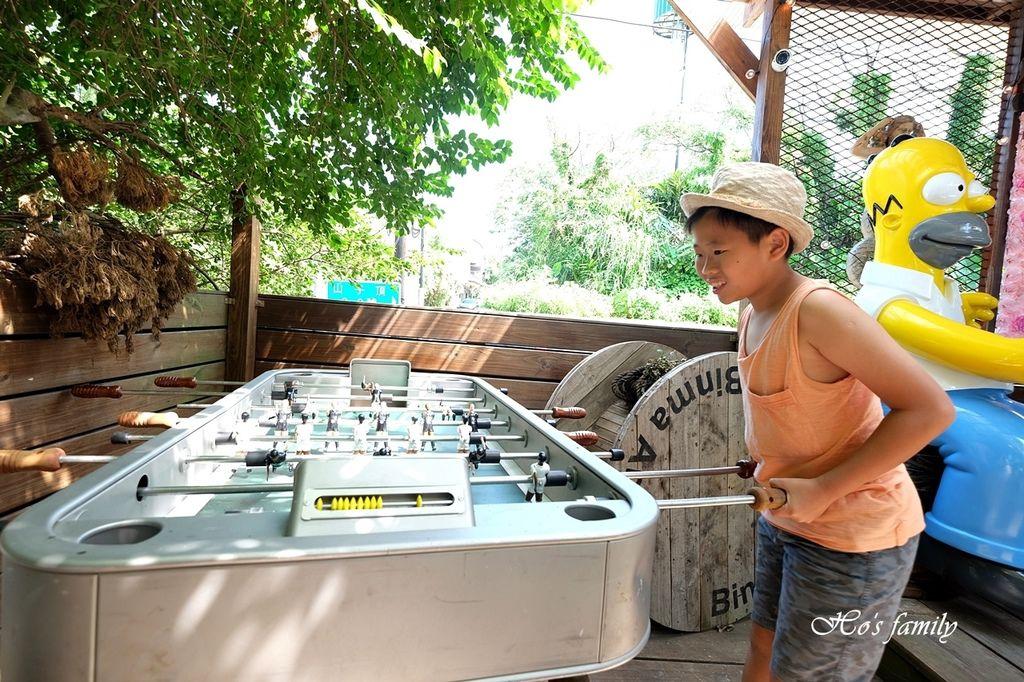 【淡水美食】Binma Area 134~森林系玻璃屋景觀咖啡廳!樹屋、水管屋, ig打卡絕美景點24.JPG
