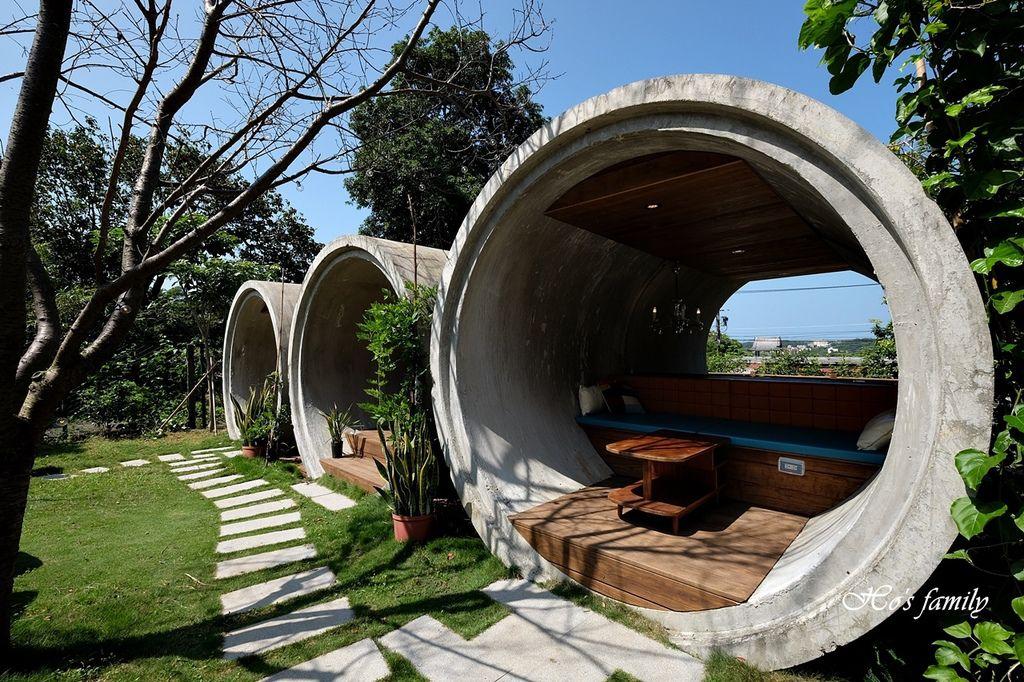 【淡水美食】Binma Area 134~森林系玻璃屋景觀咖啡廳!樹屋、水管屋, ig打卡絕美景點25.JPG