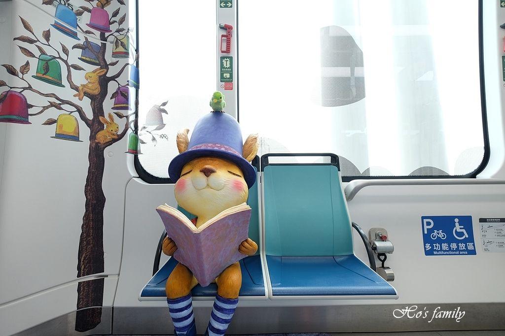 【淡海輕軌】遇見幾米!淡海輕軌怎麼搭、線路圖、一日票、營運時間14.JPG