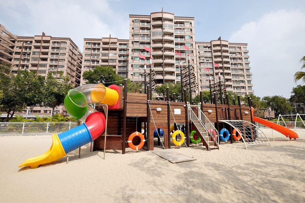 【屏東親子景點】親子公園沙坑遊戲場永大公園5.JPG