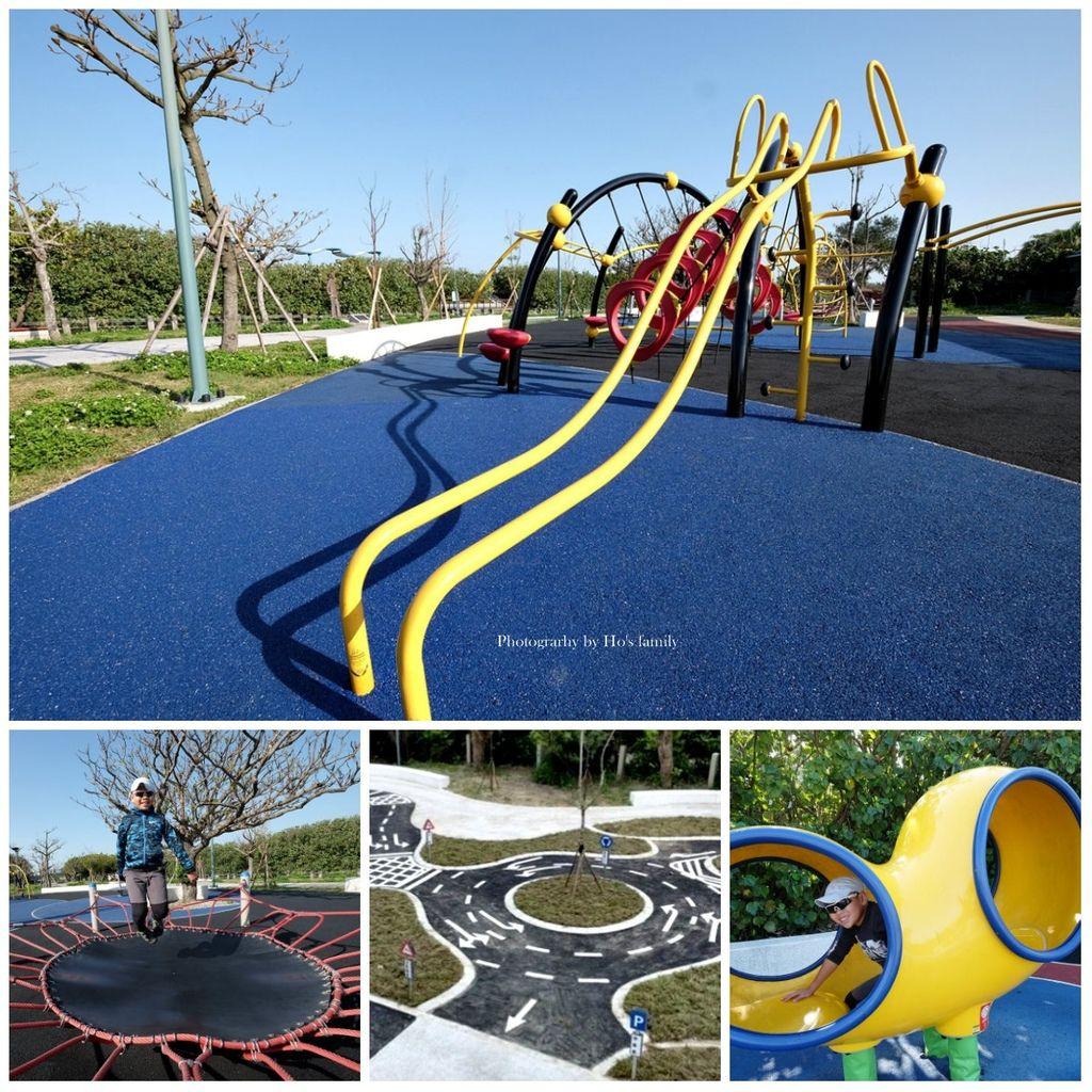 【新竹親子景點】港南運河公園遊戲場(港南運河風景區)~大型攀爬架等5大遊具好放電!兒童交通公園玩滑步車、玩水、騎單車野餐.jpg