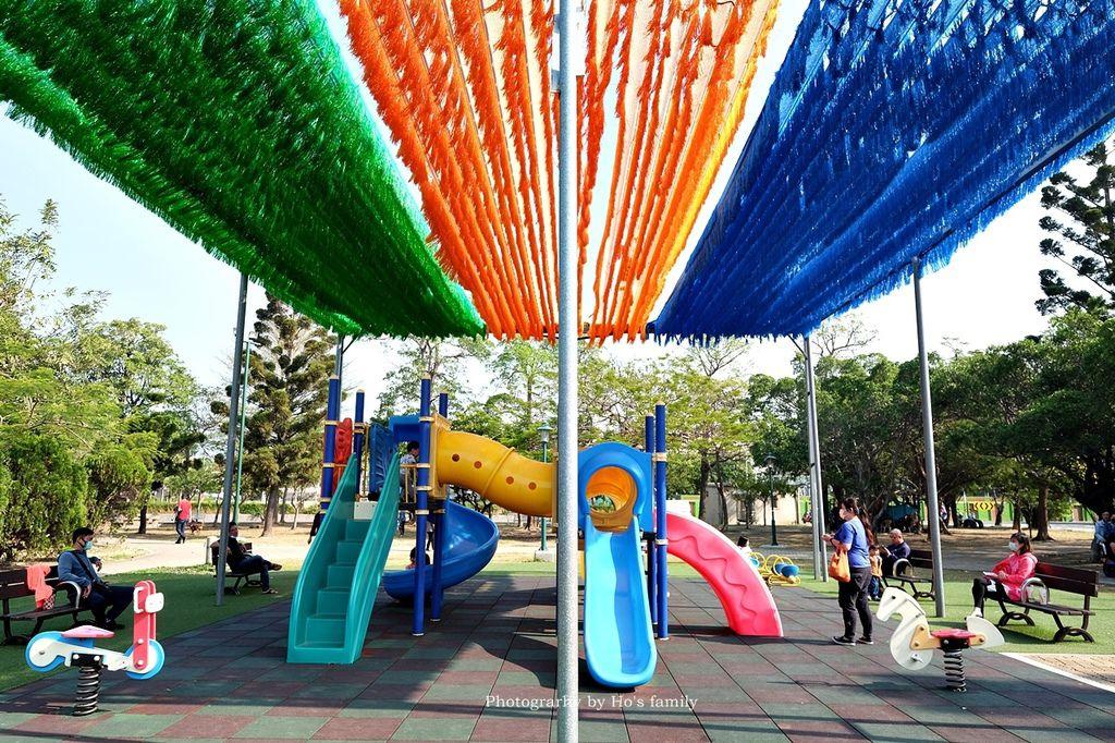 【台南親子景點】明和公園~台南首座地景遊戲場!高速水管溜滑梯、攀爬網、高空溜索,野餐玩公園一日遊17.JPG