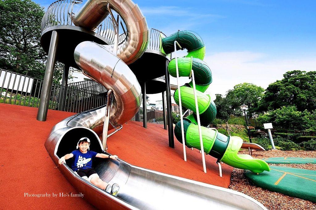 新北鶯歌親子公園永吉公園怎麼去、炮仗花、免費戲水景點7.JPG