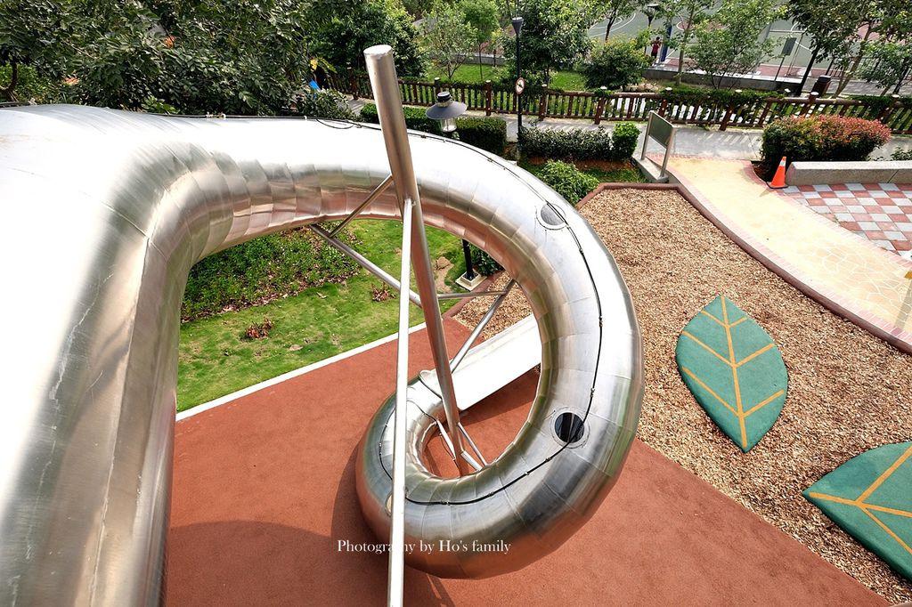 新北鶯歌親子公園永吉公園怎麼去、炮仗花、免費戲水景點6.JPG