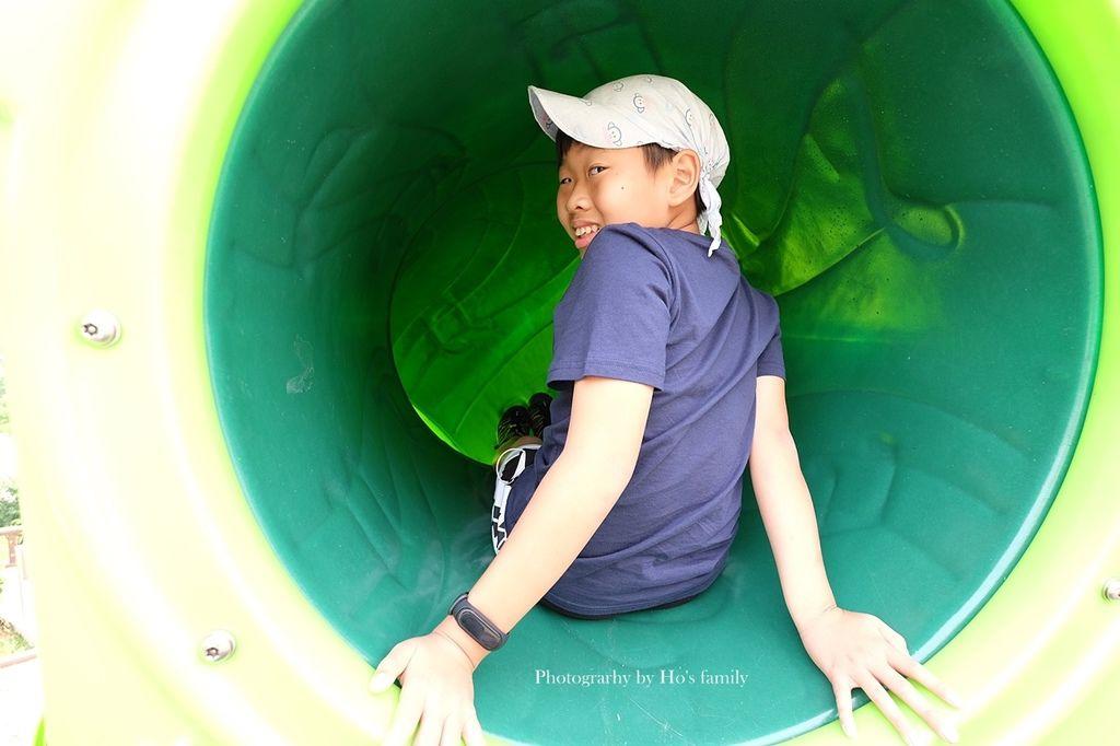 新北鶯歌親子公園永吉公園怎麼去、炮仗花、免費戲水景點11.JPG