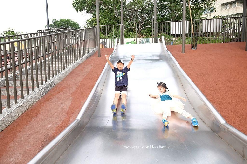 新北鶯歌親子公園永吉公園怎麼去、炮仗花、免費戲水景點14.JPG