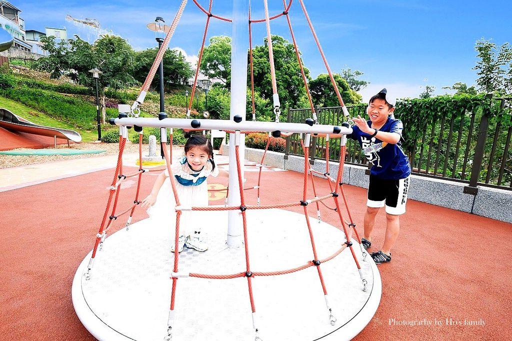 新北鶯歌親子公園永吉公園怎麼去、炮仗花、免費戲水景點18.JPG