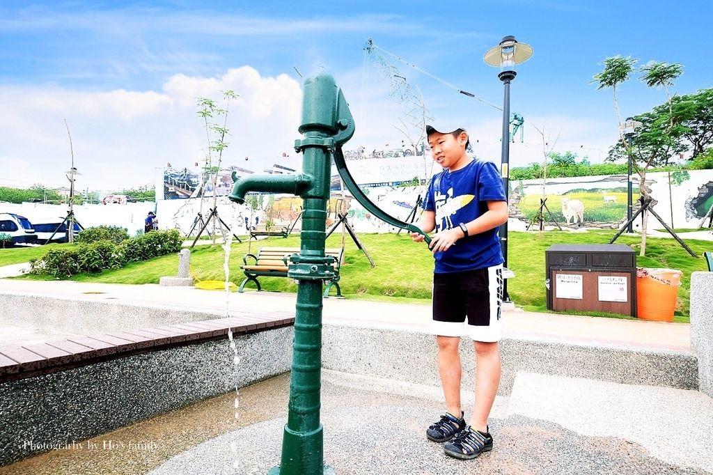 新北鶯歌親子公園永吉公園怎麼去、炮仗花、免費戲水景點25.JPG