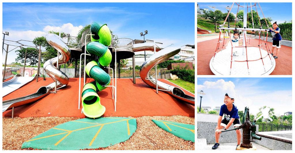 新北鶯歌親子公園永吉公園怎麼去、炮仗花、免費戲水景點fb.jpg
