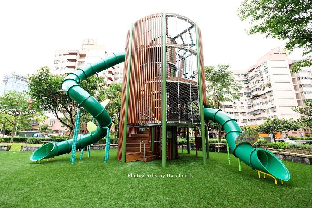 【南港親子公園】東陽公園~8米高魔王之塔!6大關卡挑戰攀爬繩網、攀岩、特色溜滑梯2.JPG