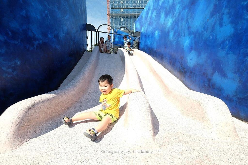 【新北特色公園】八里商港防災公園~大鯨魚地景共融公園遊戲場,八里親子景點一日遊推薦10.JPG