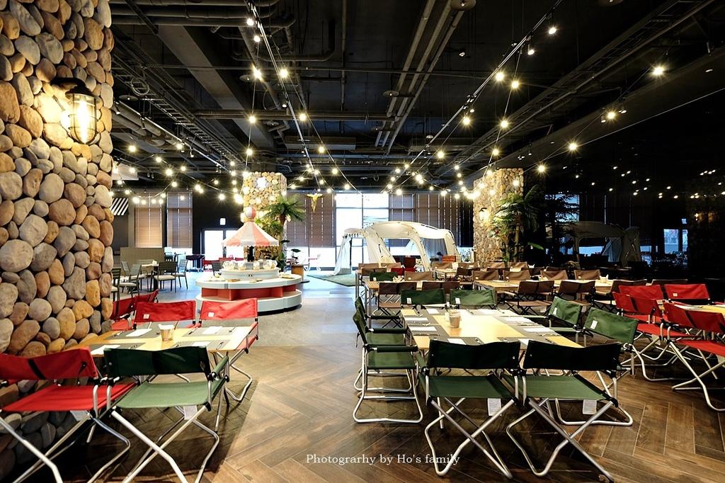 【和逸飯店桃園青埔館】Xpark住宿、室內BBQ露營野餐、船艙造型酒吧、夜宿水族館45.JPG