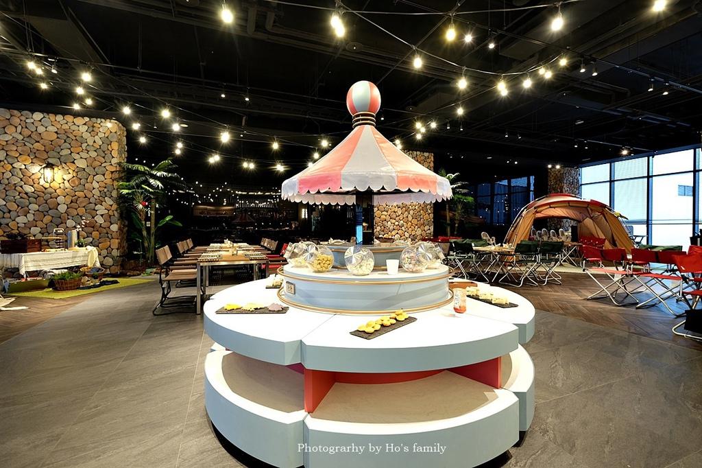 【和逸飯店桃園青埔館】Xpark住宿、室內BBQ露營野餐、船艙造型酒吧、夜宿水族館48.JPG