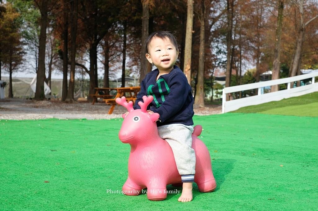 【雲林親子景點】古坑鹿營親子農場~滑草、餵小動物、落羽松林、親子餐廳13.JPG