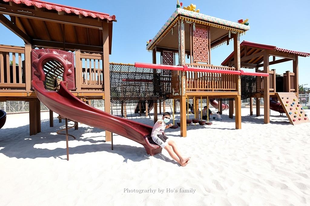 【屏東親子公園】麟洛客家花轎遊戲場免費玩沙玩水看火車28.JPG