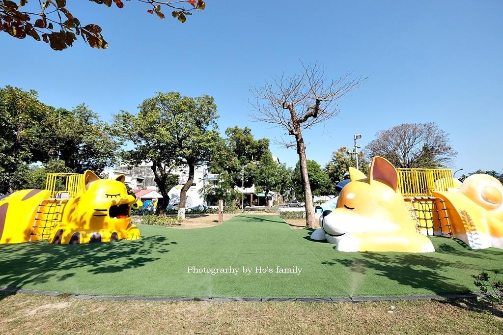 【屏東親子公園】蘭州街勝利動物溜滑梯公園5.JPG