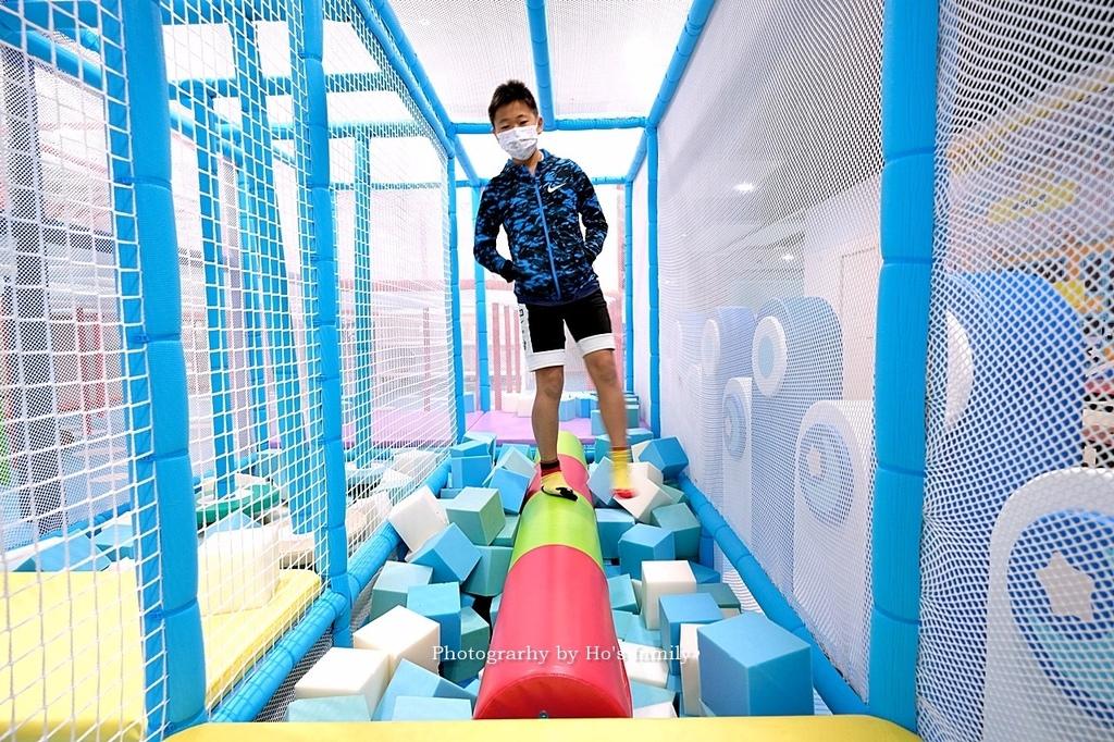 【淡水福容飯店】淡水阿熊勇闖歡樂島室內親子館6.JPG