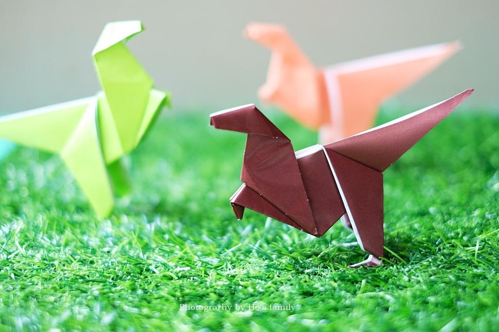 【恐龍摺紙教學】立體摺紙恐龍DIY.JPG