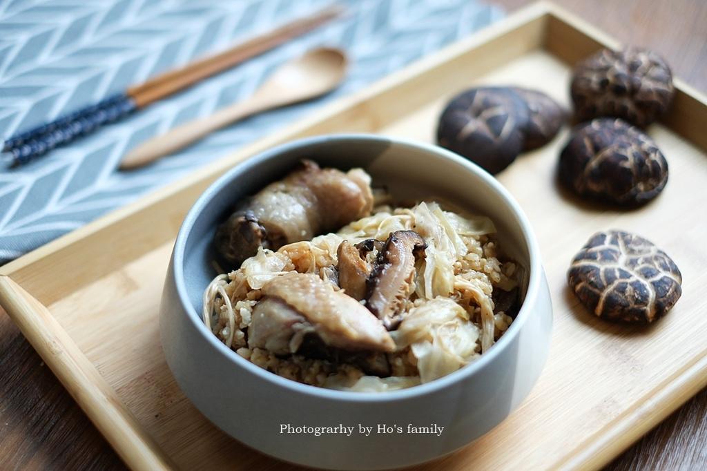 【電鍋料理】日式香菇雞肉炊飯做法食譜.JPG