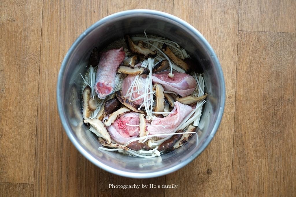 【電鍋料理】日式香菇雞肉炊飯做法食譜4.JPG