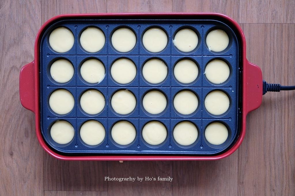 【香菇鬆餅食譜】免鬆餅粉泡打粉,親子料理午茶點心7.JPG