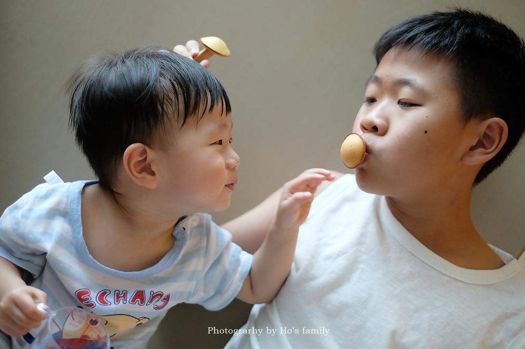 【香菇鬆餅食譜】免鬆餅粉泡打粉,親子料理午茶點心11.JPG