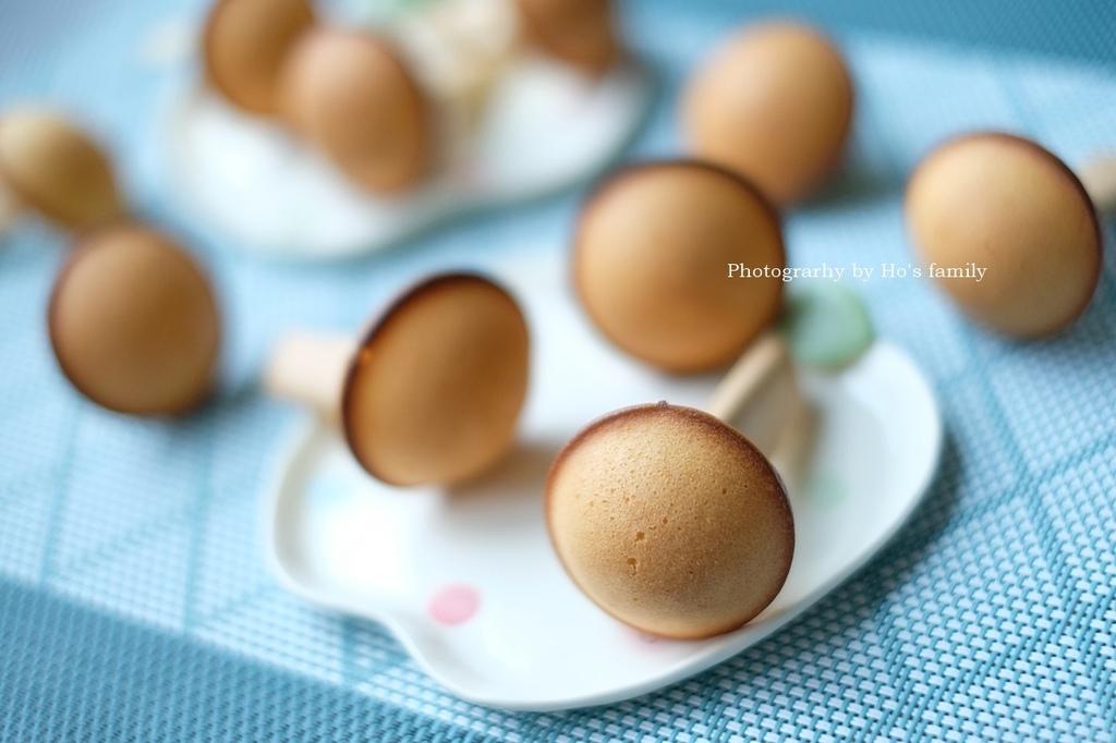 【香菇鬆餅食譜】免鬆餅粉泡打粉,親子料理午茶點心10.JPG