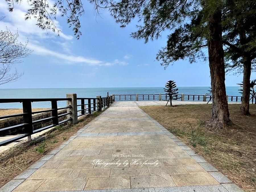 【新北淺水灣景點】芝蘭公園海上觀景平台~玩水玩沙ig打卡新景點4.JPG