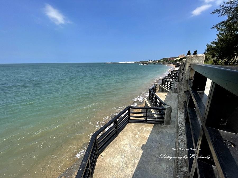 【新北淺水灣景點】芝蘭公園海上觀景平台~玩水玩沙ig打卡新景點6.JPG