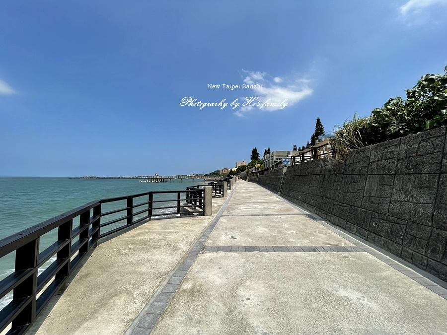 【新北淺水灣景點】芝蘭公園海上觀景平台~玩水玩沙ig打卡新景點9.JPG