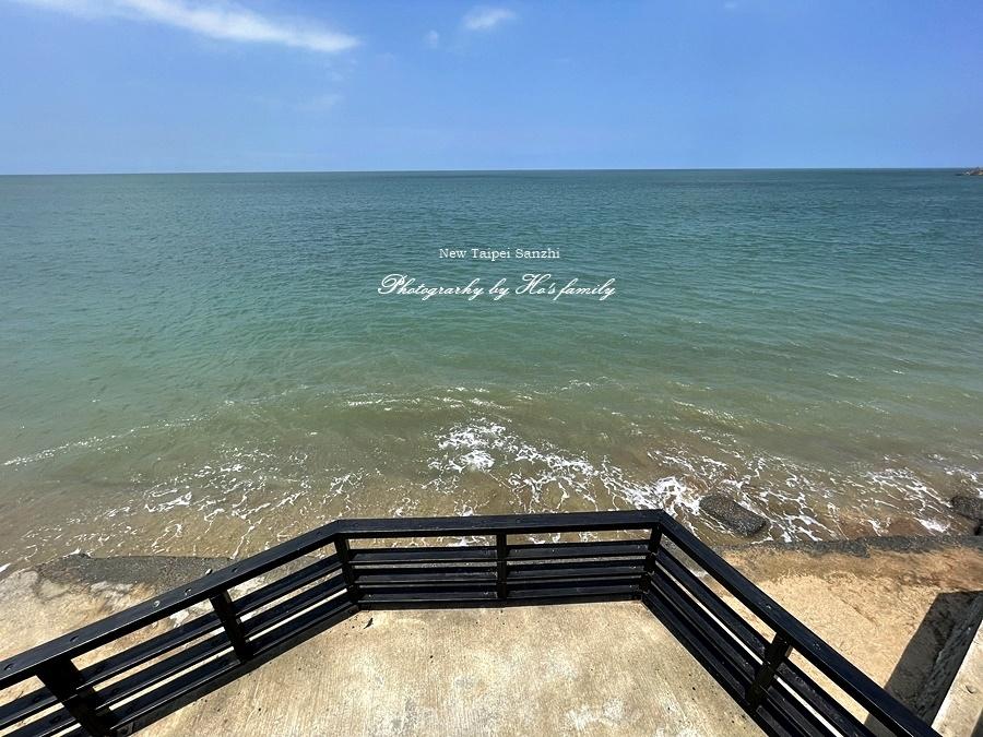 【新北淺水灣景點】芝蘭公園海上觀景平台~玩水玩沙ig打卡新景點7.JPG