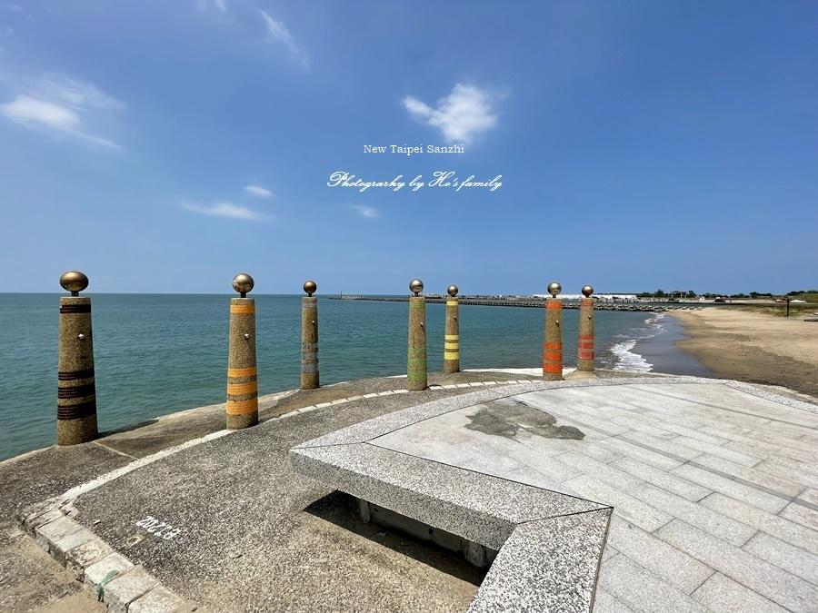 【新北淺水灣景點】芝蘭公園海上觀景平台~玩水玩沙ig打卡新景點17.JPG