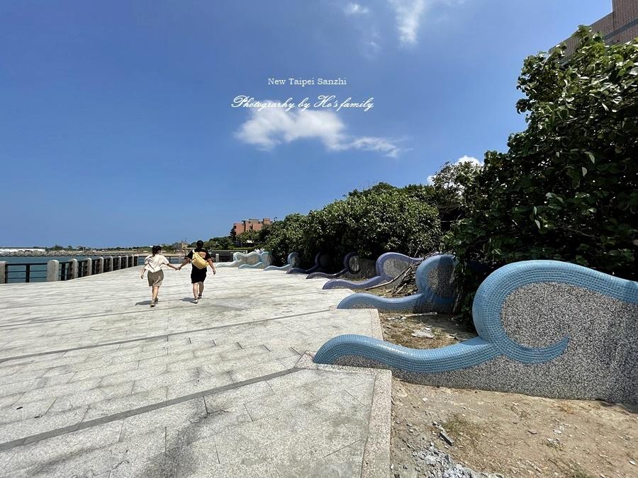 【新北淺水灣景點】芝蘭公園海上觀景平台~玩水玩沙ig打卡新景點15.JPG