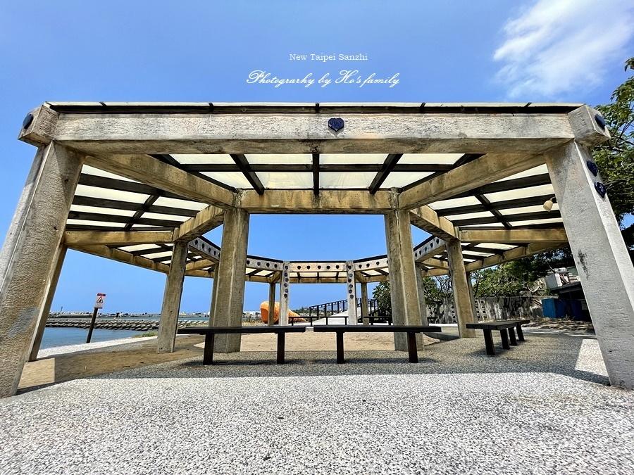 【新北淺水灣景點】芝蘭公園海上觀景平台~玩水玩沙ig打卡新景點20.JPG