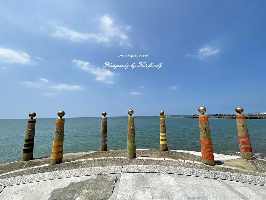 【新北淺水灣景點】芝蘭公園海上觀景平台~玩水玩沙ig打卡新景點18.JPG