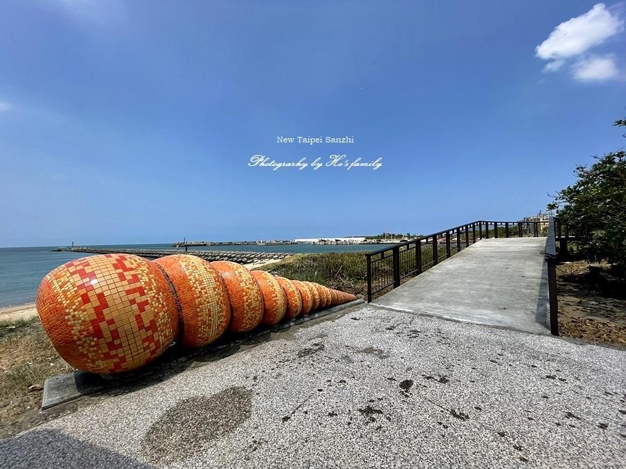 【新北淺水灣景點】芝蘭公園海上觀景平台~玩水玩沙ig打卡新景點21.JPG
