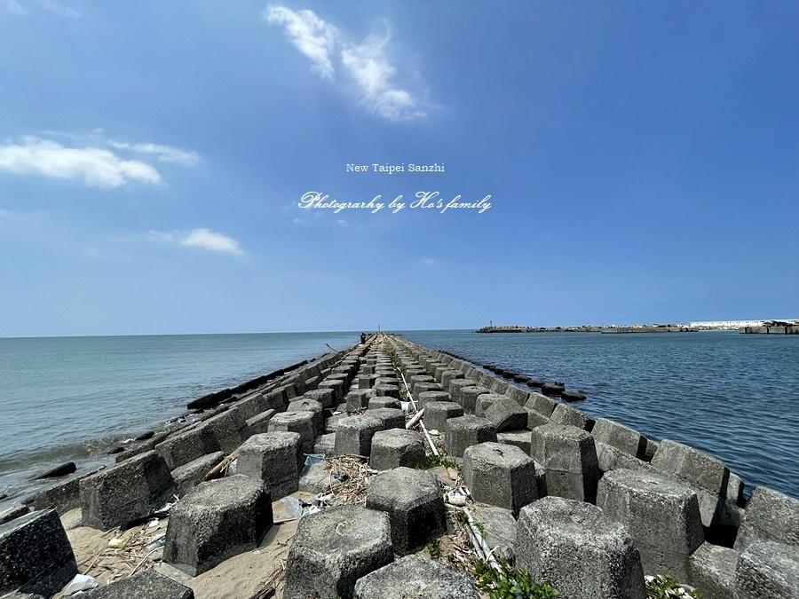 【新北淺水灣景點】芝蘭公園海上觀景平台~玩水玩沙ig打卡新景點22.JPG
