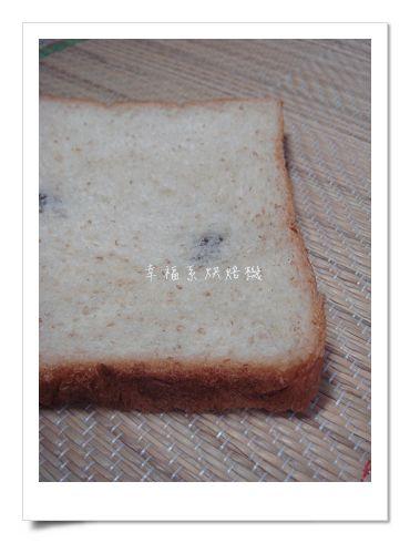 全麥煉乳葡萄吐司(中種法)