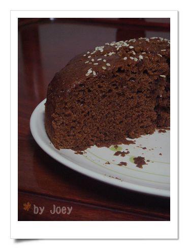 澎湖黑糖糕斷面秀