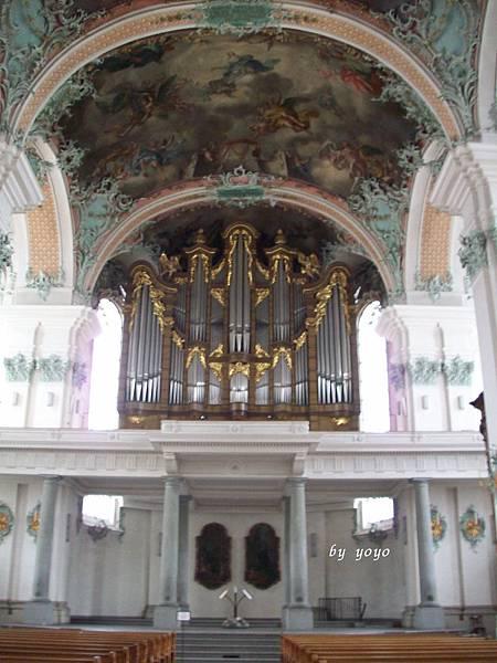 聖加倫修道院內部巴洛克風格 104